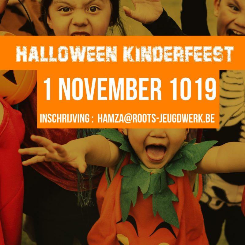 Halloween kinderfeest!! 01/11/2019