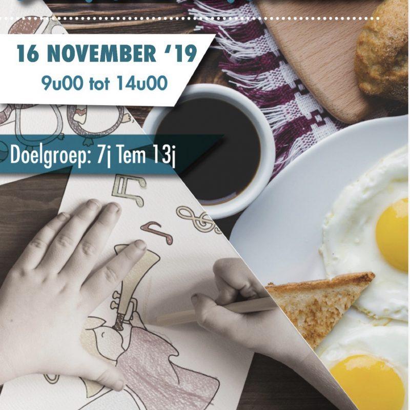Breakfast en verschillende groepsactiviteiten!