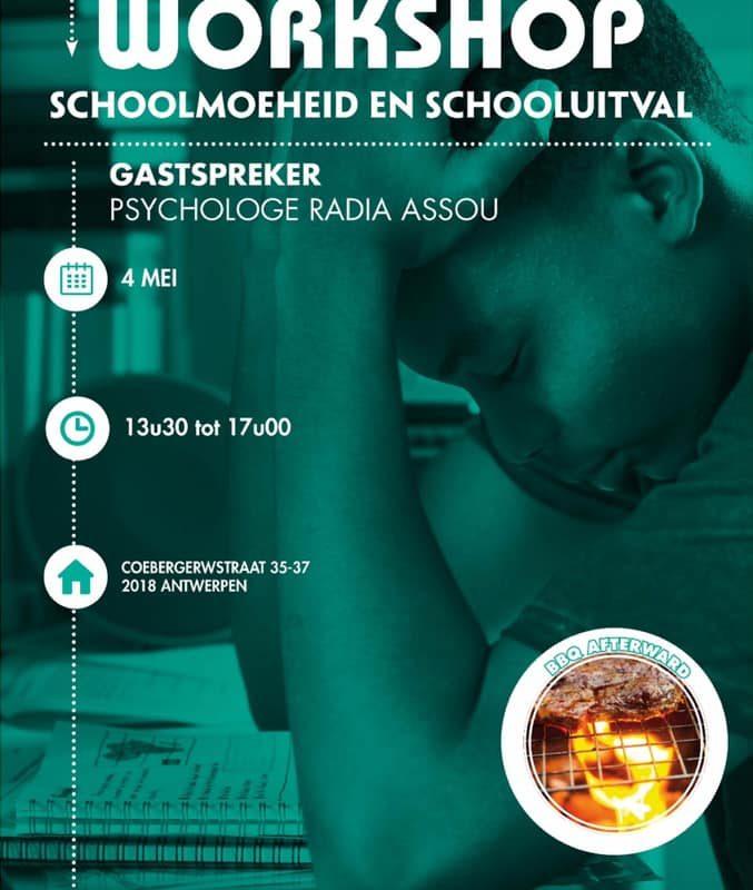 Workshop schoolmoeheid en schooluitval