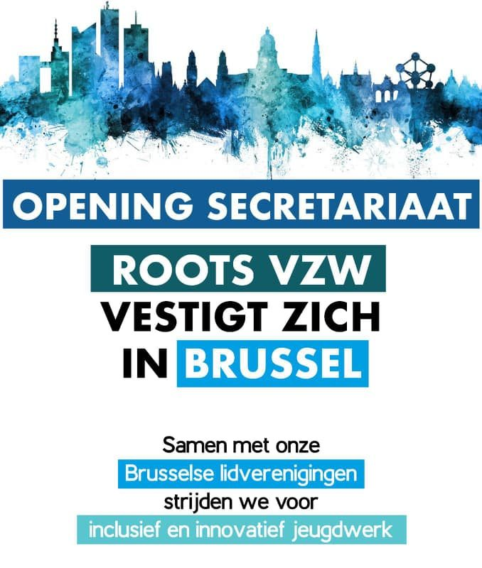Roots vzw vestigt zich in Brussel!