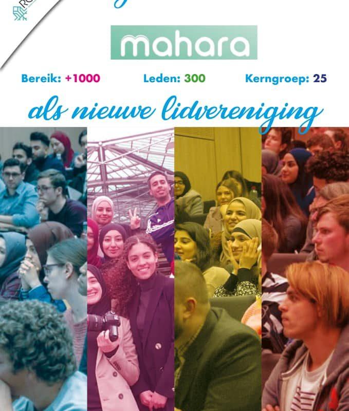 Aansluiting Mahara Antwerpen!