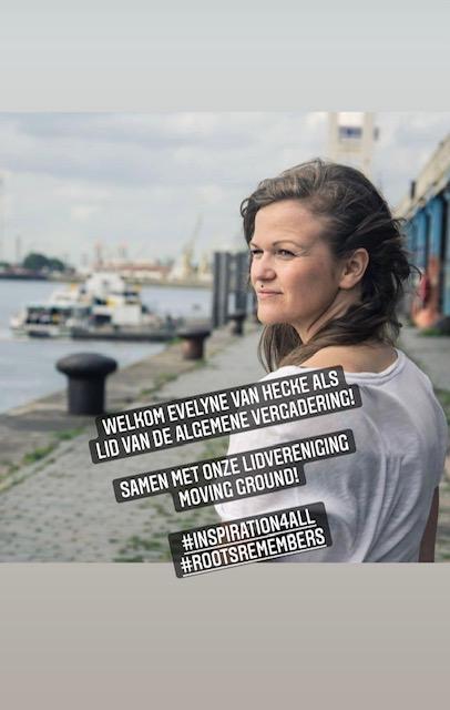 We verwelkomen Evelyne Van Hecke als lid van onze algemene vergadering!